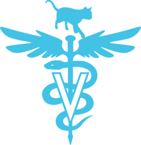 meow co-cat hospital logo-blue