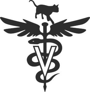 meow co-cat hospital logo-black